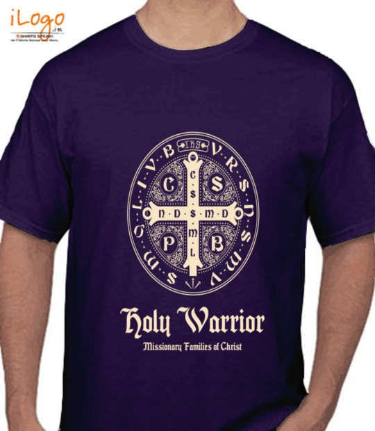purple holy warrior:front