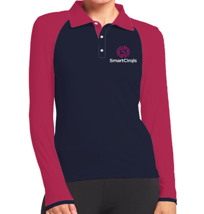Womens Polo smarcircle T-Shirt