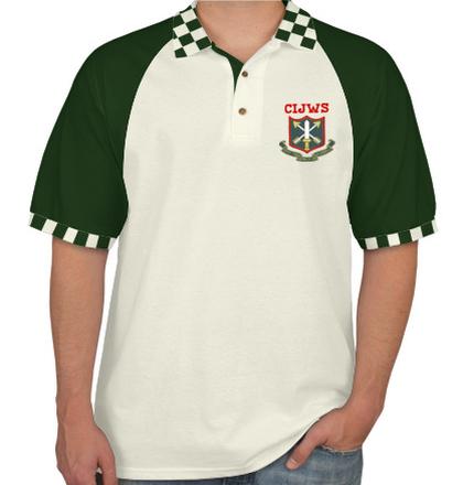 Class Reunion Collared T-Shirts COUNTER-INSURGENCY-AND-JUNGLE-WARFARE-SCHOOL-th-COURSE-REUNION-POLO T-Shirt