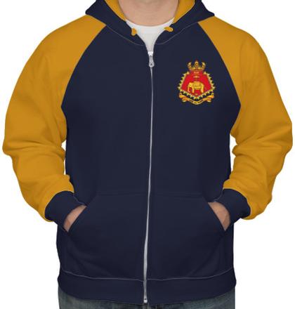 Indian Navy Hoodies INS-Delhi-HOODIE T-Shirt