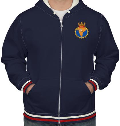 Indian Navy Hoodies INS-godavari-emblem-HOODIE T-Shirt