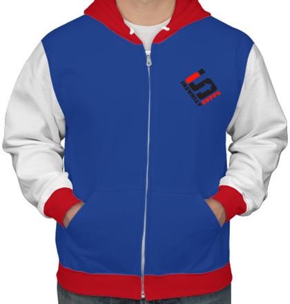 Zipper Hoodies S-Logo-. T-Shirt