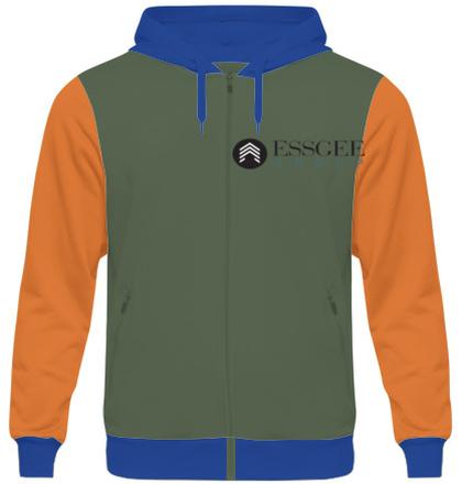 Zipper Hoodies ESSGEE-Group-logo- T-Shirt