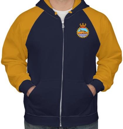 Indian Navy Hoodies INS-Guldar-emblem-hoodie T-Shirt