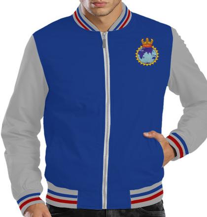 Indian Navy Zipper Jackets INSinvestigatorrn-JACKET T-Shirt