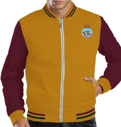 Indian Navy Zipper Jackets INS-Jalashwa-emblem-JACKET T-Shirt
