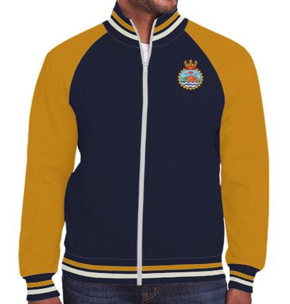 Indian Navy Zipper Jackets INS-Jamuna-emblem-jacket T-Shirt