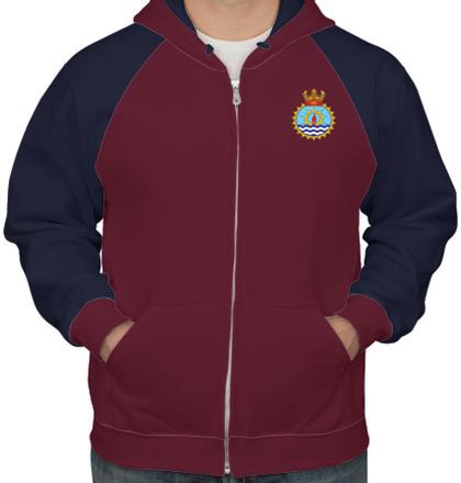 Indian Navy Hoodies ins-jyoti-emblem-hoodie T-Shirt