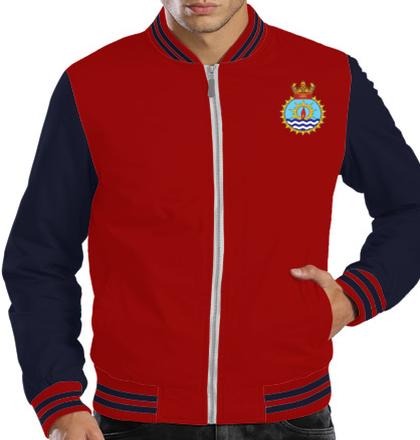 Indian Navy Zipper Jackets ins-jyoti-emblem-JACKET T-Shirt