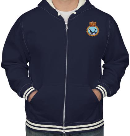 Indian Navy Hoodies INS-Kalvari-crest-HOODIE T-Shirt