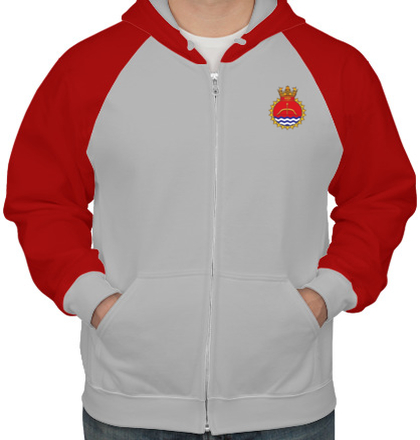 Indian Navy Hoodies ins-karmuk-emblem-HOODIE T-Shirt