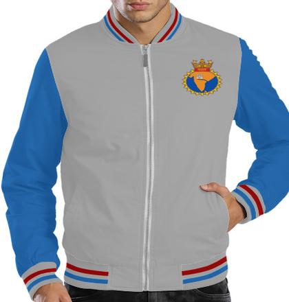 Indian Navy Zipper Jackets INS-Godavari-emblem-Jacket T-Shirt