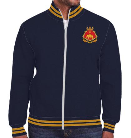 Indian Navy Zipper Jackets INS-Delhi-JACKET T-Shirt