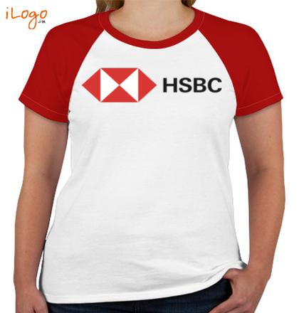 HSBC-Women%s-Round-Neck-Raglan-Half-Sleeves T-Shirt