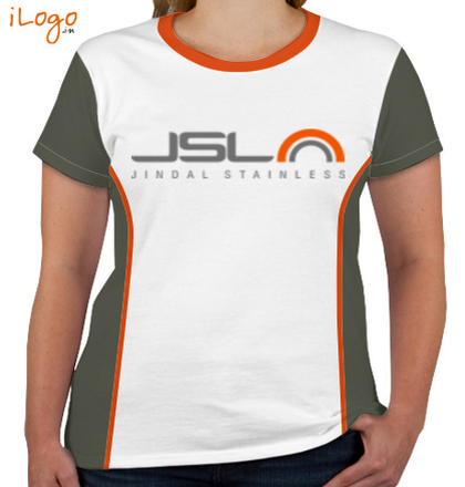 JINDAL-STAINLESS-Women%s-Round-Neck-With-Side-Panel T-Shirt