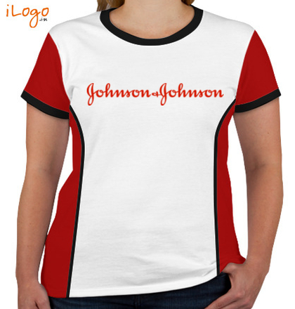 Corporate JOHNSON-AND-JOHNSON-Women%s-Round-Neck-With-Side-Panel T-Shirt
