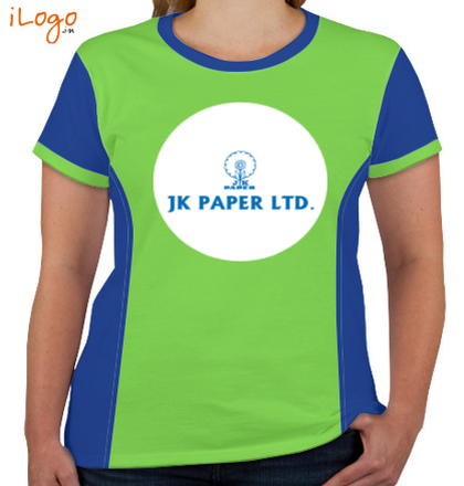 Corporate JK-PAPER-Women%s-Round-Neck-With-Side-Panel T-Shirt