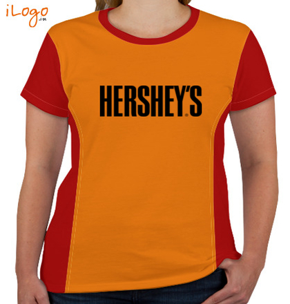 Corporate HARSHEY%S-Women%s-Round-Neck-With-Side-Panel T-Shirt