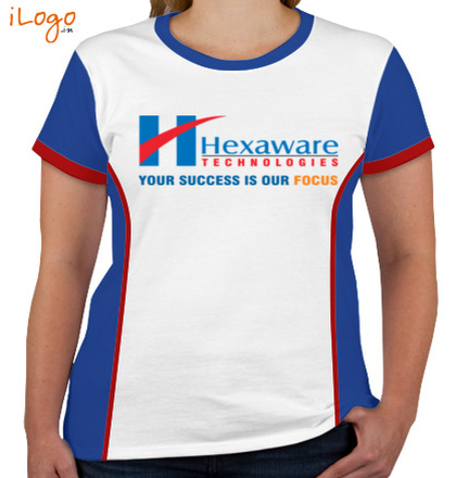 Corporate HEWAWARE-TECHNOLOGIES-Women%s-Round-Neck-With-Side-Panel T-Shirt