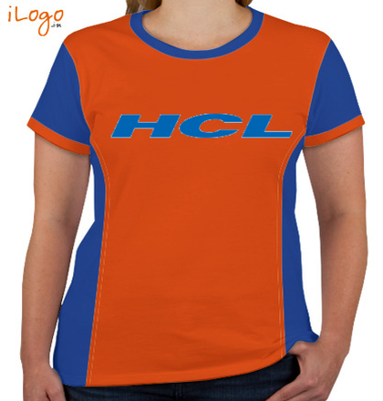 Corporate HCL-Women%s-Round-Neck-With-Side-Panel T-Shirt
