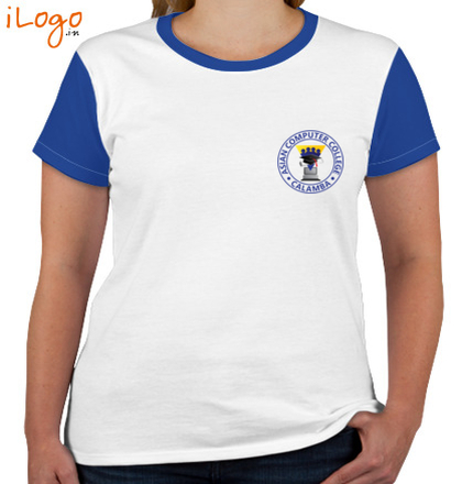 Class Reunion T-Shirts asian-computer-college-Women%s-Roundneck-T-Shirt T-Shirt