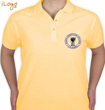 Class Reunion T-Shirts asian-computer-college-Women%s-Premium-Polo-Shirts T-Shirt