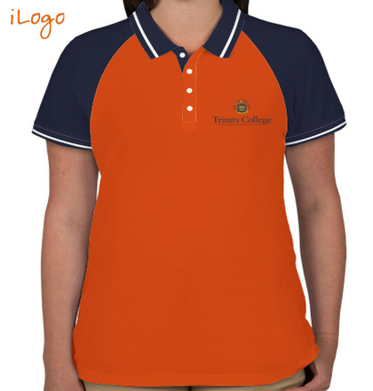 Class Reunion T-Shirts TrinityCollege-Women%s-Raglan-Single-Tip-Polo-Shirt T-Shirt