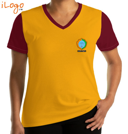 Class Reunion T-Shirts Cotton-University-V-neck-Tees T-Shirt