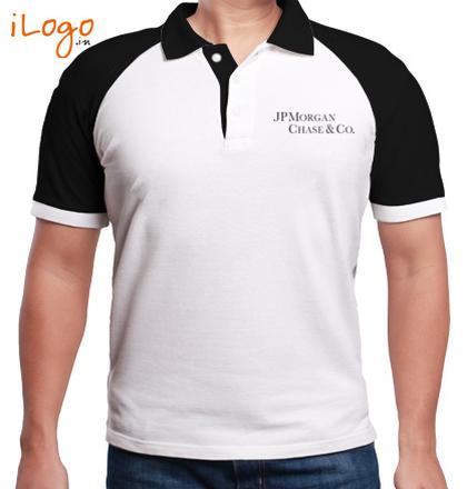 Corporate JPMorgan-Chase-Raglan-Polo T-Shirt