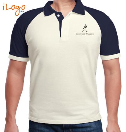 Corporate Johnnie-Walker-Raglan-Polo T-Shirt