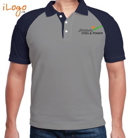Corporate Jindal-Steel-%-Power-Raglan-Polo T-Shirt