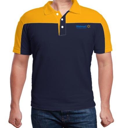 Corporate Walmart-Raglan-Cut-%-Sew-Polo-Shirt T-Shirt