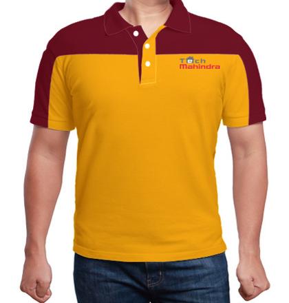 Corporate Tech-Mahindra-Raglan-Cut-%-Sew-Polo-Shirt T-Shirt