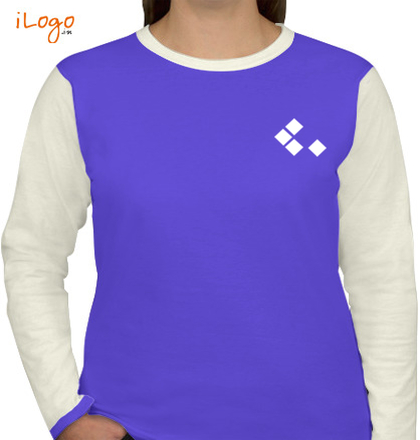 purple-women-full-sleeves-t-shirts T-Shirt