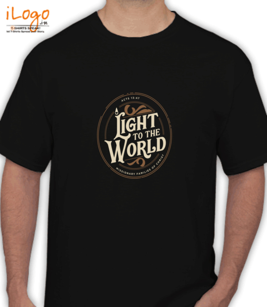 black light to the world:front