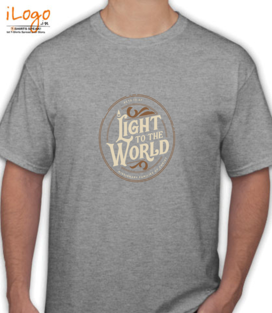 grey heather light to the world:front