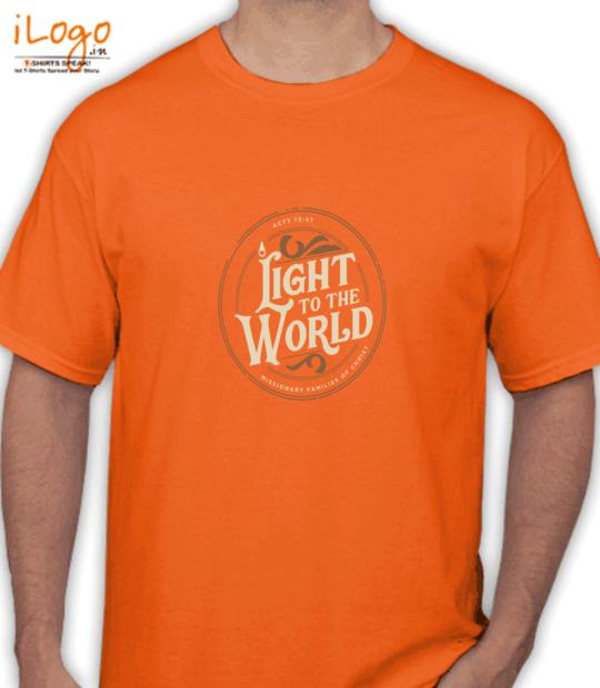 orange light to the world:front
