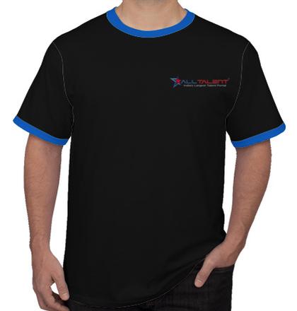 LOGO Alltalent-Men%s-Round-Neck-T-Shirt T-Shirt