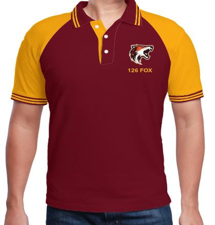 LOGO NDA-Men%s-Raglan-Polo-with-Double-Tipping T-Shirt