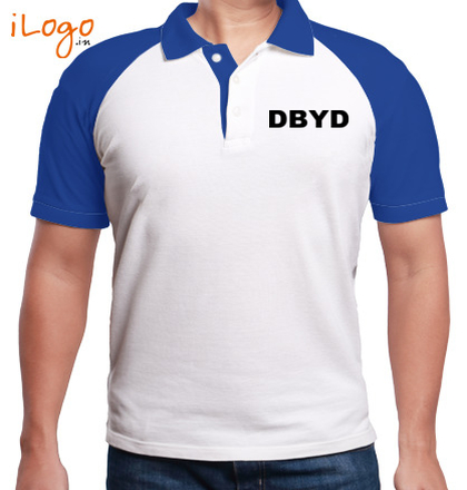 LOGO DonBosco-Men%s-Raglan-Polo T-Shirt