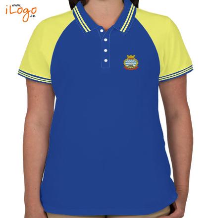 Womens Polo INS-Hamla-RB T-Shirt