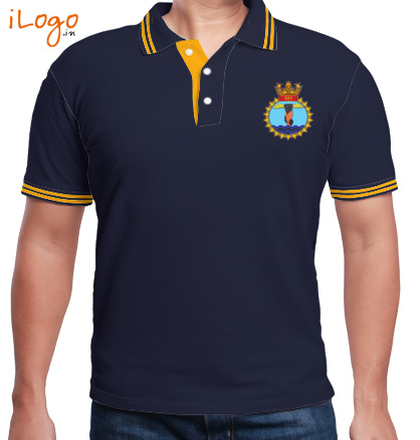Indian Navy Collared T-Shirts FLY-NAVY T-Shirt