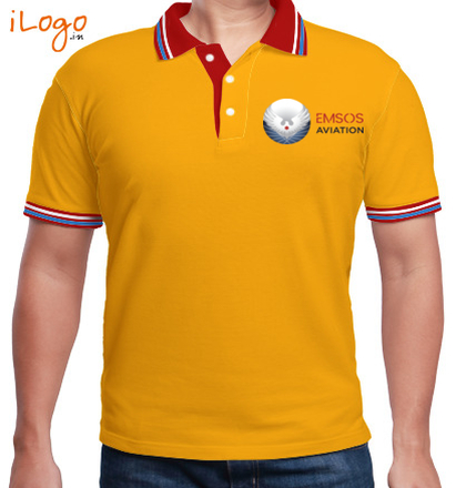 Others Polo-with-Double-Tipping T-Shirt