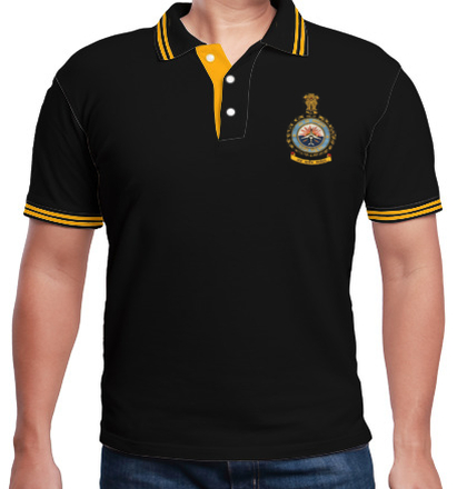 Indian Air Force Collared T-Shirts Shirts Indian-airforce-no-polo T-Shirt