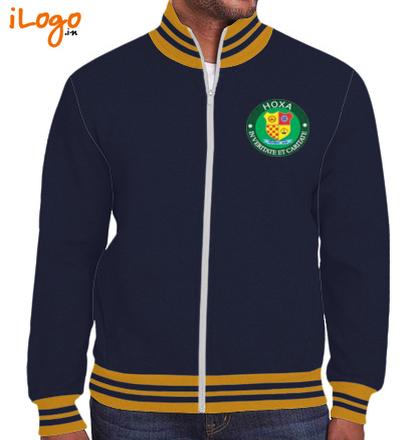Others Zipper-Jacket-Double-Tip T-Shirt