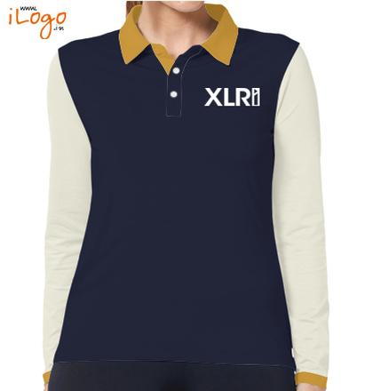 XLRI-women-full-sleeves-polo-shirt T-Shirt