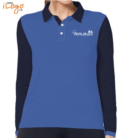 mealbuzz-women-full-sleeves-polo-shirt T-Shirt