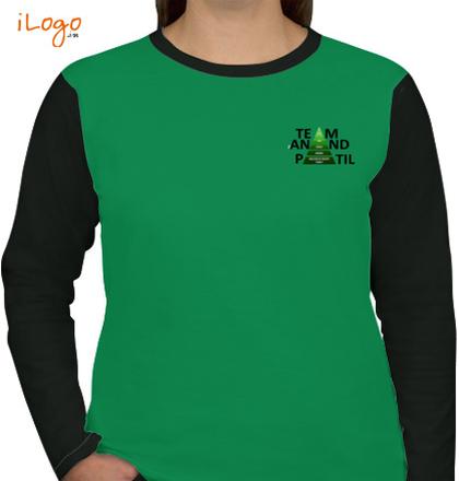 Team-women-full-sleeves-tees T-Shirt