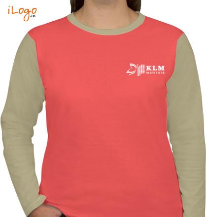 KLM-institute-full-sleeves-crewneck-tees T-Shirt