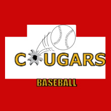 Cougars-Baseball-Design- T-Shirt